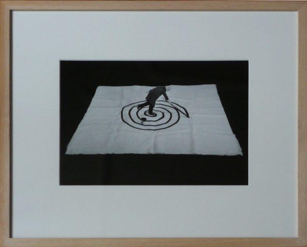 """Gilbert Garcin, """"L'inconscience"""", 1993-2001 - photographie noir & blanc - éd. 1/8 - Collection Géotec, achat 2018"""