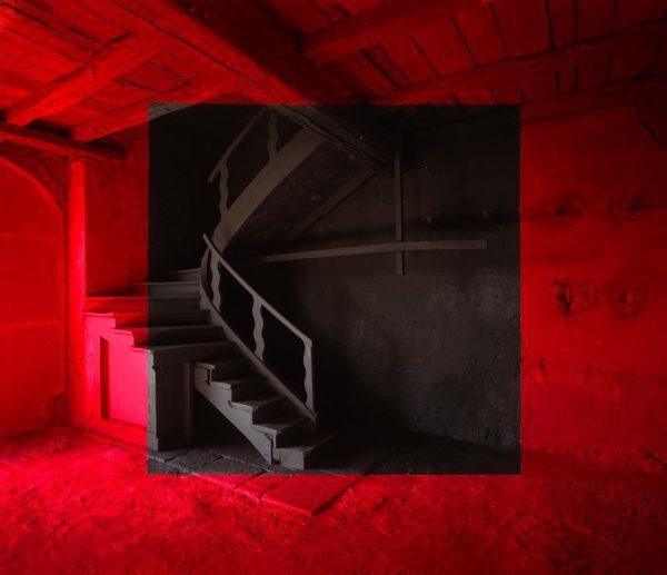 """Georges Rousse, """"Dravert"""", 2006 - tirage numérique couleur contre-collé sur aluminium - éd. 2/5 - Collection Géotec, achat 2008"""