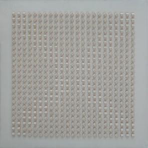 """Luis Tomasello, """"Atmosphère chromoplastique n° 275"""", 1971- acrylique sur bois - Collection Géotec, achat 2009"""
