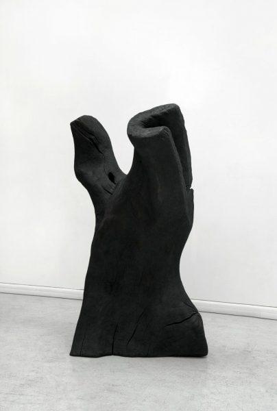 """David Nash, """"Torso"""", 2011 - bronze - ex. 1/4 - Collection Géotec, achat 2012"""